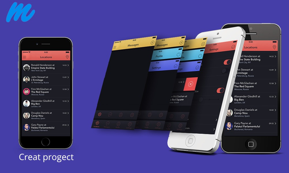 What are the free Mobile App Design Tools?
