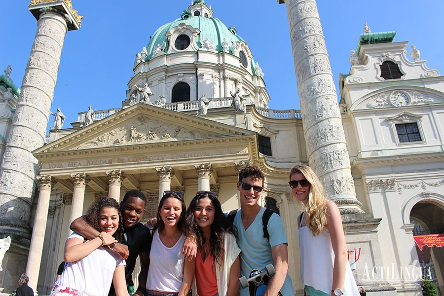 Summer Students on Vienna tour