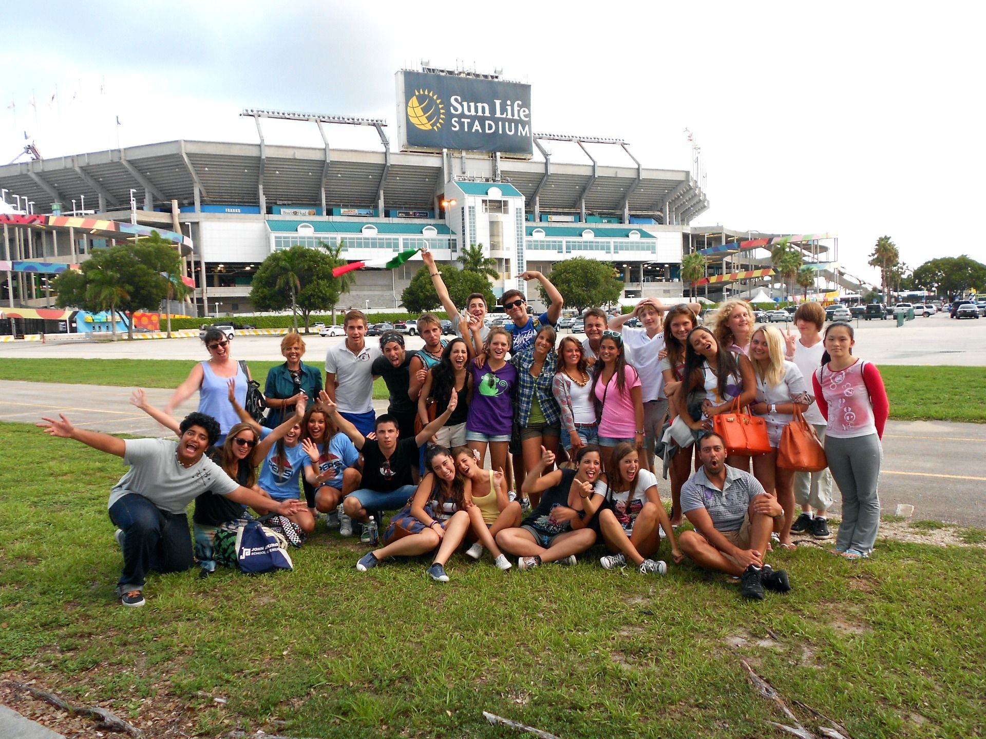 Students on activities, Miami