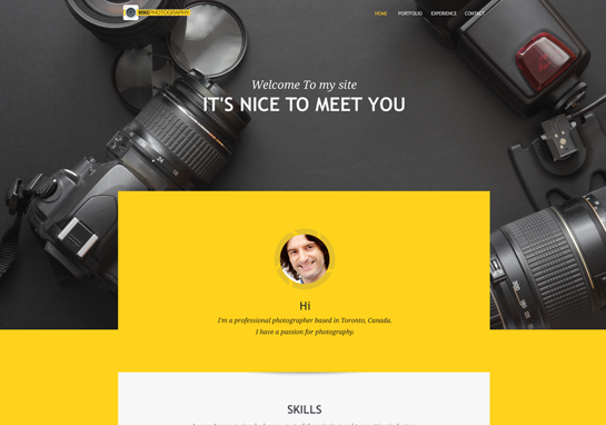 Mike-responsive-website-templates