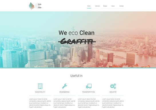 Eco-responsive-website-templates