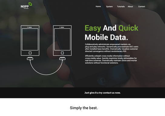 nopp-responsive-website-templates