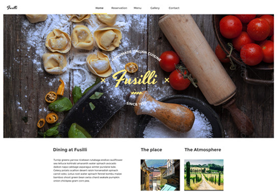 fusilli-responsive-website-templates