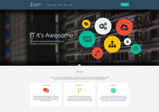 IT-responsive-website-templates