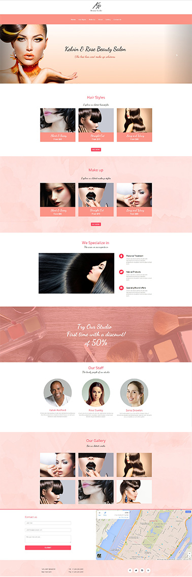bootstrap responsive website template 2