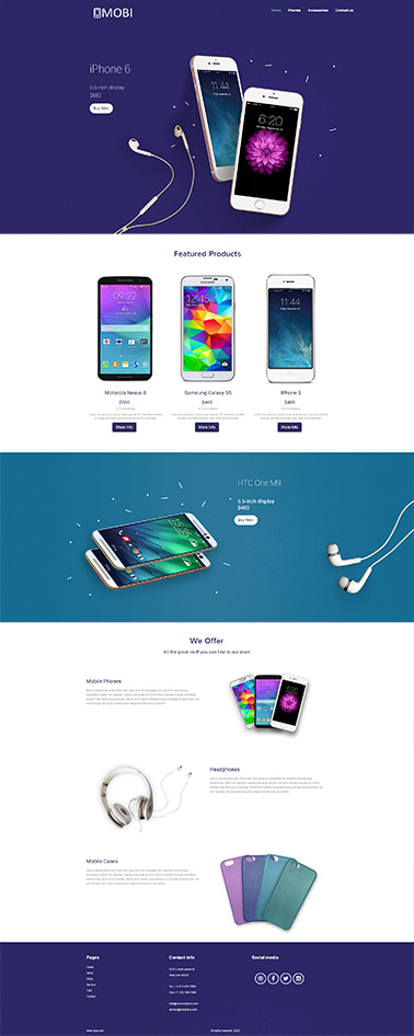 bootstrap responsive website template 7