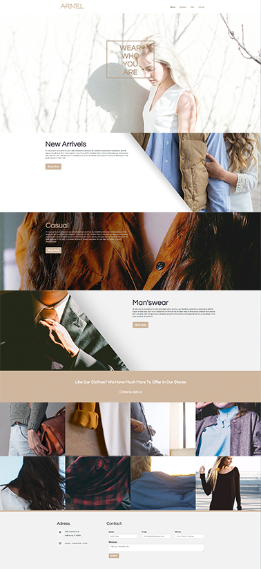 bootstrap responsive website template 3