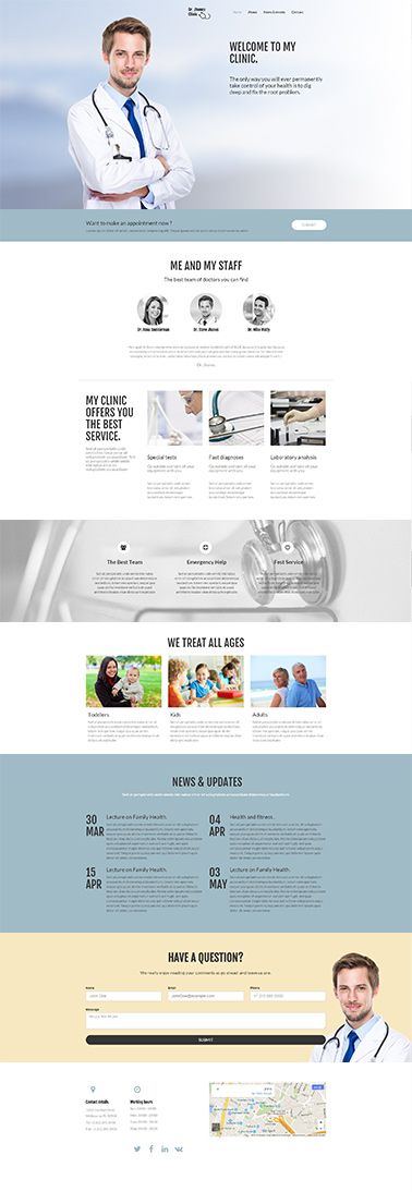 responsive website template 5