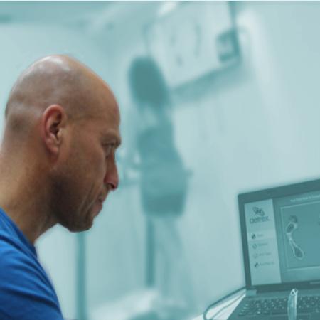 בדיקת ריצה ממוחשבת כחלק מהבדיקה להתאמת מדרסים